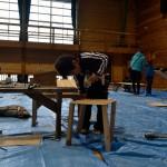 2015 冬のアートキャンプ in 森の学校 ものづくりワークショップ 第1回