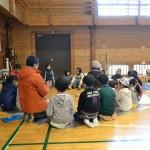 2015 冬のアートキャンプ in 森の学校 ものづくりワークショップ 第3回