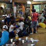 2015夏休み自然体験ものづくりワークショップ 第一回